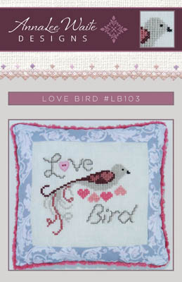 Love Bird (w/heart button)