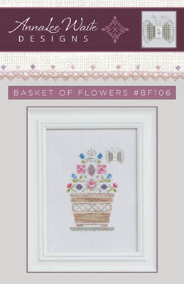 Basket Of Flowers (w/btns)