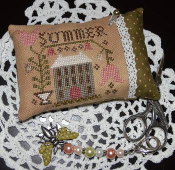 Summer Pin Pillow, A