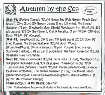 Autumn By The Sea Emb. Pkg.
