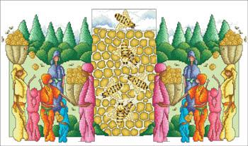 Gathering The Honey