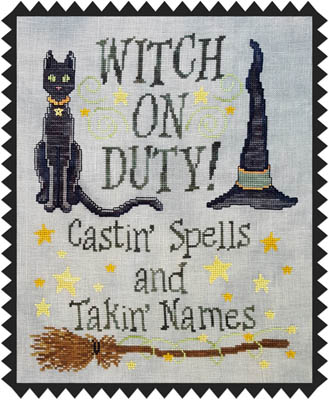 Witch On Duty