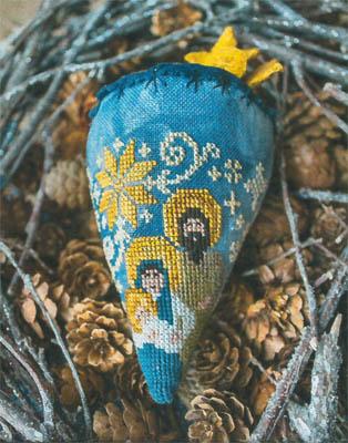 Nativity Berry - Linen