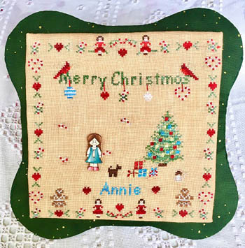 All Children Love Christmas -Girl (includes button)