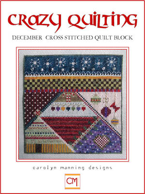 Crazy Quilting, December QuiltBlock