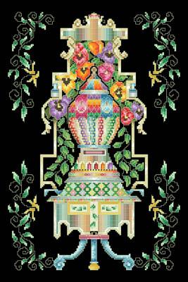 Louis XIV Pansy Vase