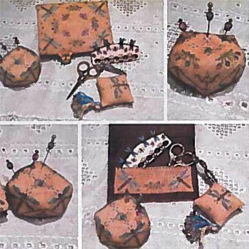 Dancing Dragonflies Sewing Set