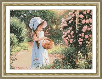 Basket Of Petals
