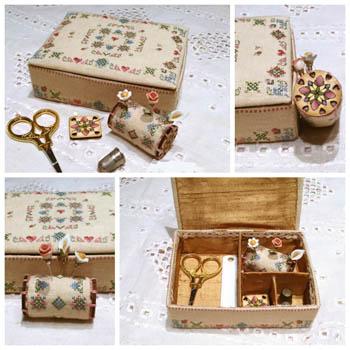 Elegance In Bloom Sewing Box