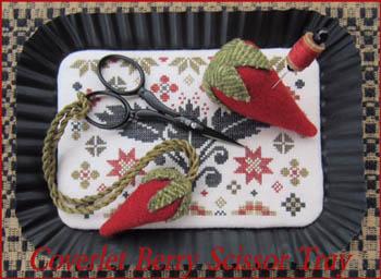Coverlet Berry Scissor Tray