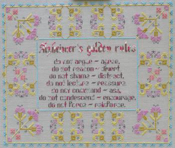 Alzheimer's Golden Rules