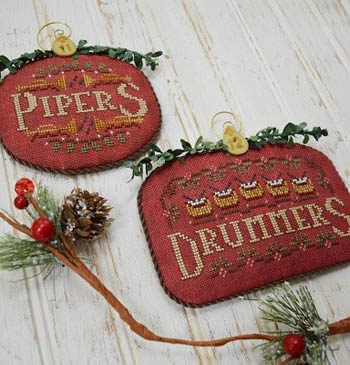 12 Days Pipers & Drummers