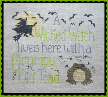Wicked Witch & Grumpy Toad