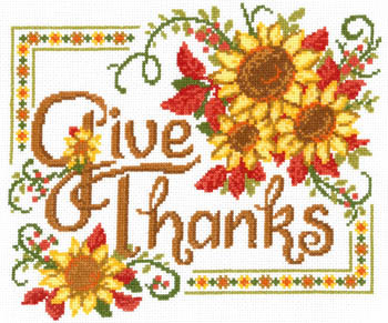 Give Thanks Sunflowers