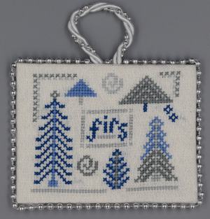Firs (Blue & Silver Christmas)