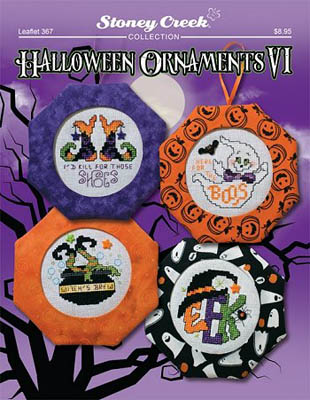 Halloween Ornaments VI