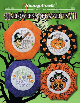Halloween Ornaments VII