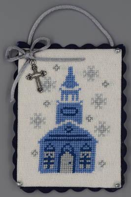 Church (Blue & Silver Christmas)