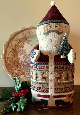 Sampler Santa