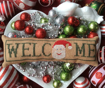 Wee Welcome - December Santa
