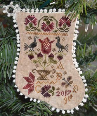Tulip Basket Ornaments
