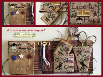 Americana Sewing Set