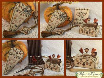 Autumn Colors Sewing Set