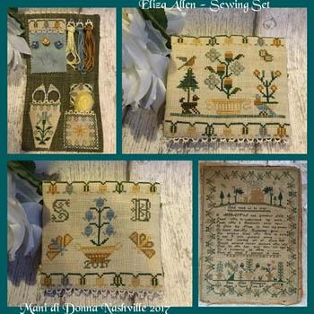 Eliza Allen Sewing Set