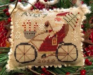 Avery's Cycling Santa