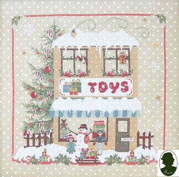 Christmas Avenue - Toys Shop (includes 2 buttons)