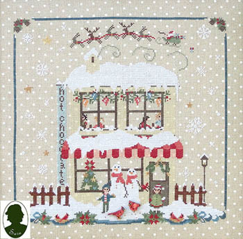 Christmas Avenue - Hot Chocolate (includes 2 buttons)