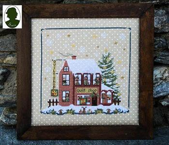 Christmas Avenue - Quilt Shop(includes 2 buttons)