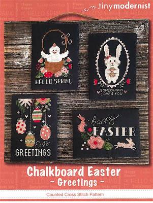 Chalkboard Easter Greetings