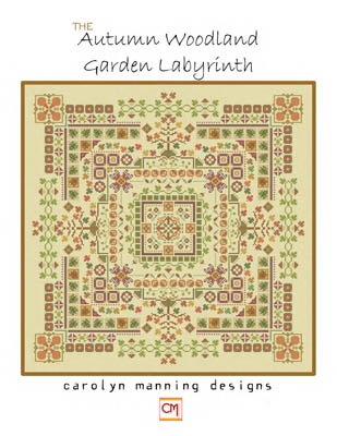 Autumn Woodland Garden Labyrinth