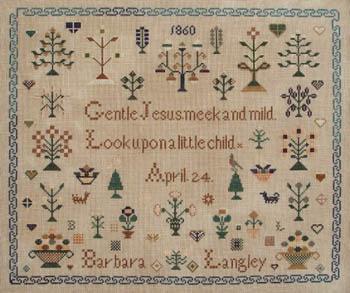 Barbara Langley 1860