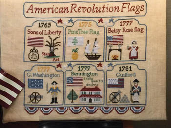 American Revolution Flags