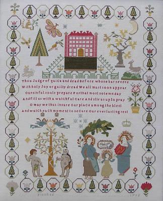 Ann Till Sampler 1795