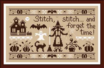 Stitch Stitch And Forget The Time