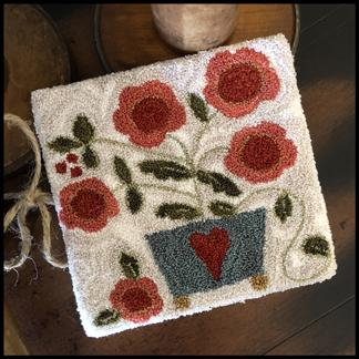 Potted Posies Punchneedle