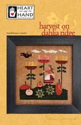 Harvest On Dahlia Ridge (w/embellishments)