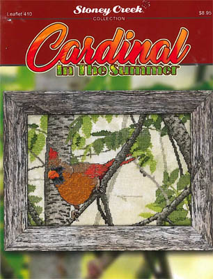 Cardinal In The Summer