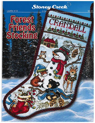 Forest Friends Stocking