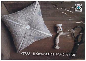 11 Snowflakes Start Winter