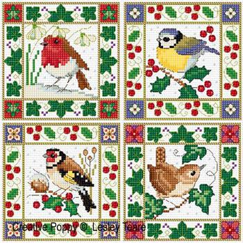 Christmas Bird Cards