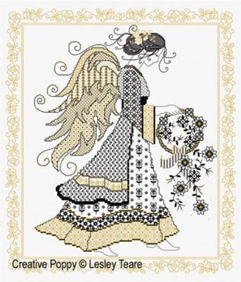 Blackwork Angel