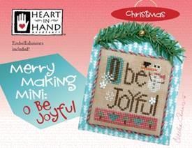 Merry Making Mini - O Be Joyful (w/embellishments)