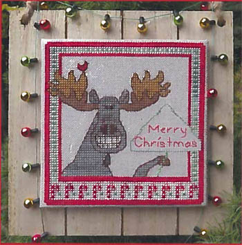 Christmas Moose Greetings