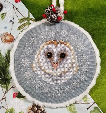 Winter Snow Owl