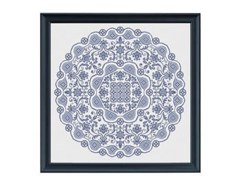 Gossamer Lace In Cross Stitch