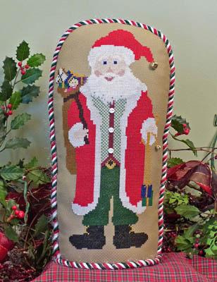Holiday Stand-Up Santa